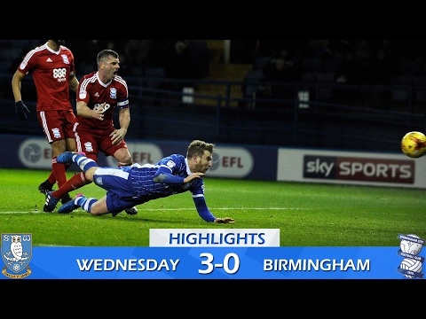 Sheffield Wednesday 3 Birmingham City 0 | Extended highlights | 2016/17