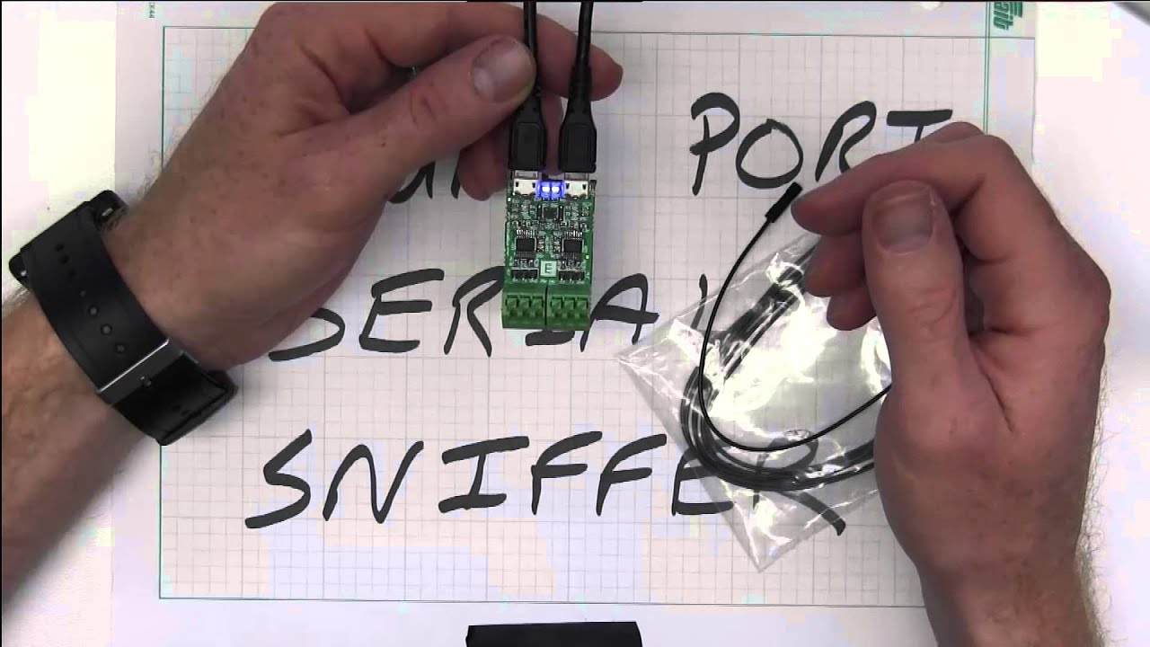 Dual Port USB to Serial Sniffer