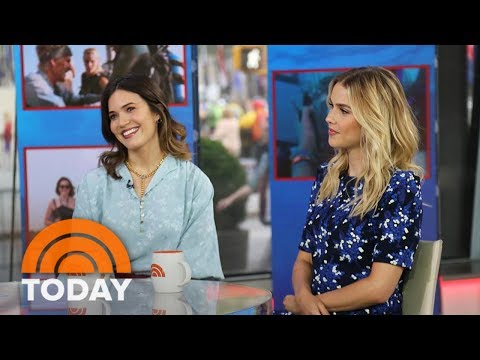 Mandy Moore, Claire Holt Talk Shark Thriller '47 Meters Down' | TODAY
