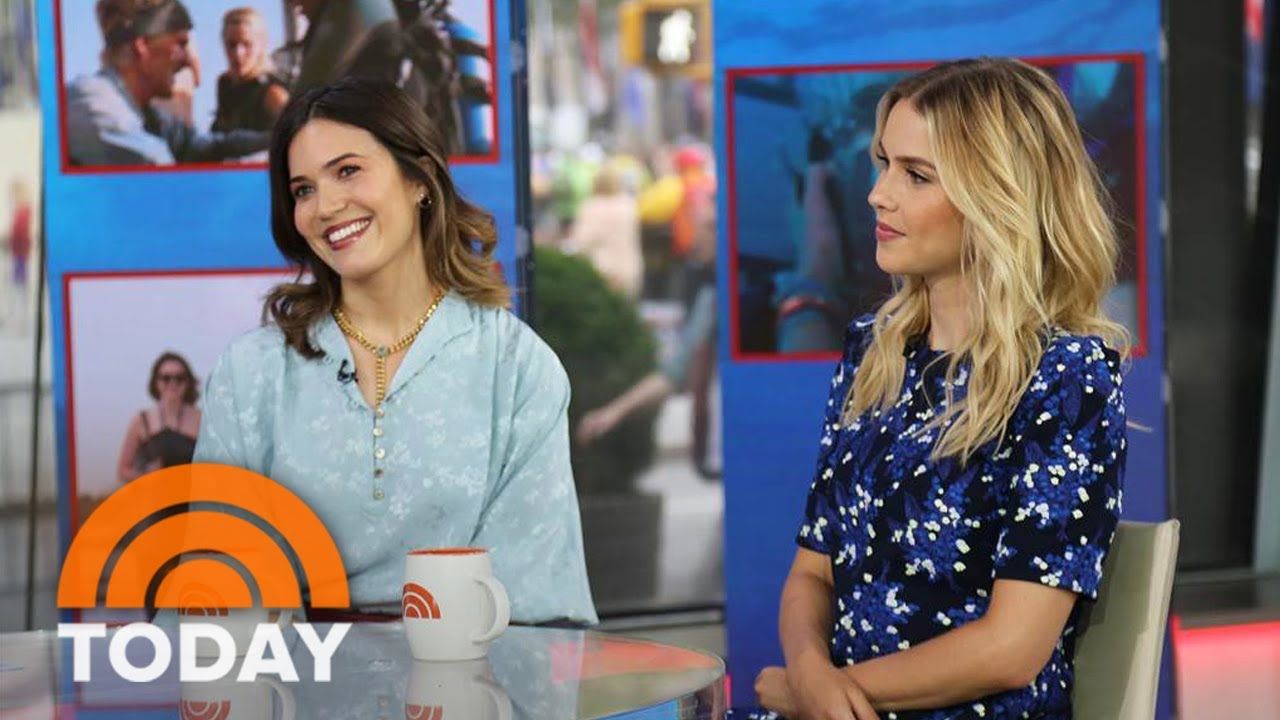 Mandy Moore Claire Holt Talk Shark Thriller 47 Meters Down