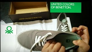 UCB-United Colors of Benetton Men's Sneakers (grey) - unboxing & review