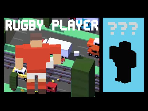 CROSSY ROAD RUGBY PLAYER | Hardest Unlock Ever?! | NEW Secret Character Micro Update (Android, iOS)