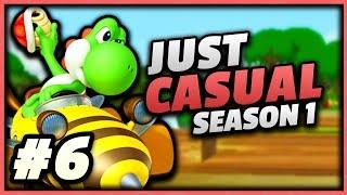 JUST CASUAL Mario Kart Wii Custom Tracks - Road to 9999 VR - [Season 1, Episode 6]