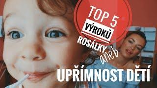 Jitka Boho - TOP 5 výroků Rosálky aneb upřímnost dětí