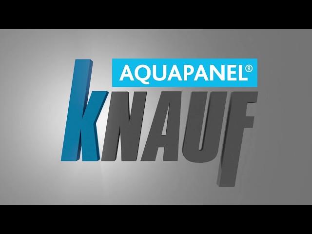 Knauf Sistema Aquapanel Outdoor: la perfezione senza nastro di armatura