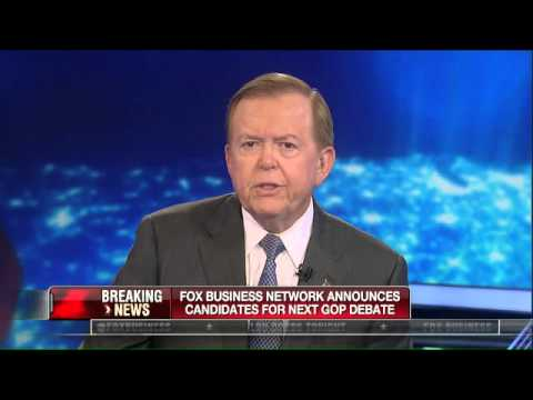 FOX Business Network Announces Line-up In GOP Debates November 10th