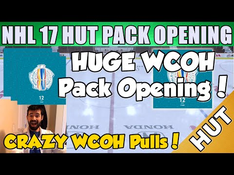 My BEST Pack Opening YET! - NHL 17 HUT - Hockey Ultimate Team - Crazy Huge WCOH Pulls!