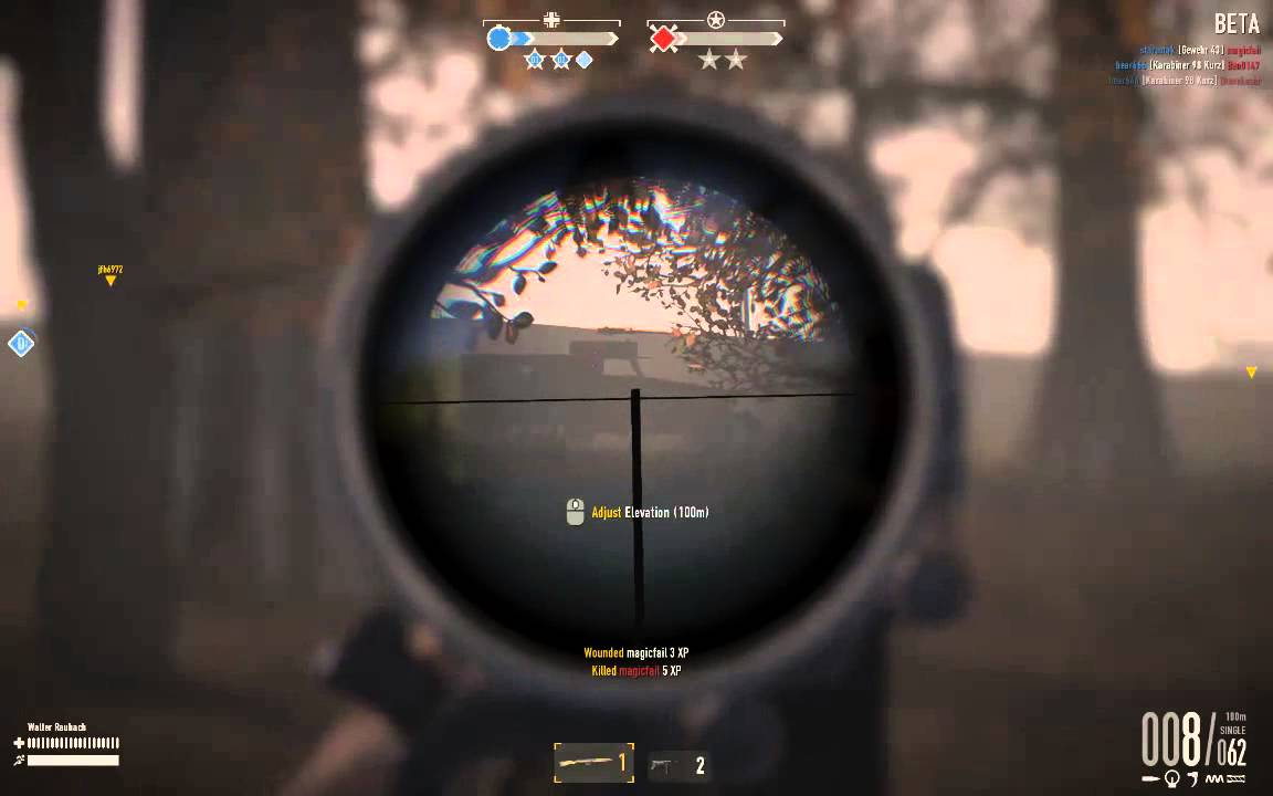 gewehr 43 scoped play youtube