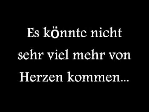 Metallica Nothing Else Matters German Lyrics Deutscher Text