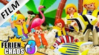 Playmobil Film deutsch AUF EINSAMER INSEL GESTRANDET Familie Vogel im Überlebenskampf Ferienchaos 3