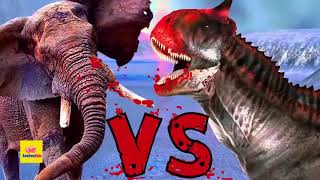 VIDEO  Lâm Tân Khủng Long Bạo Chúa Đại Chiến Cá Sấu Khổng Lồ Thời Tiền Sử   Hoạt Hình Động Vật 3D