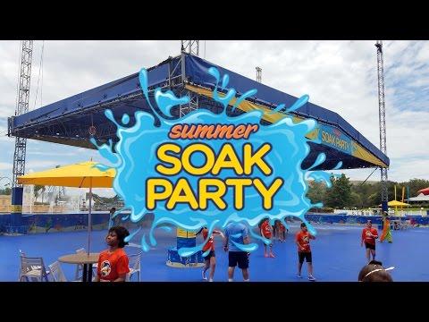 SeaWorld Orlando General Park Update Summer Soak Party