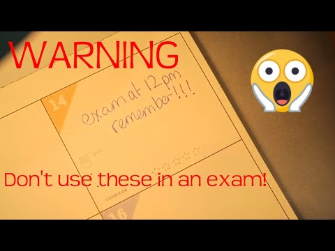 WARNING! These pens may cause you to fail your exams!