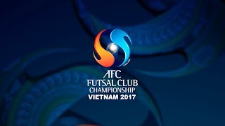 AFC FUTSAL CLUB CHAMPIONSHIP VIETNAM 2017 - OFFICIAL DRAW