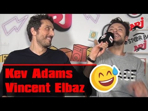 NRJ - Kev Adams & Vincent Elbaz : Interview WTF pour « Tout là-Haut »