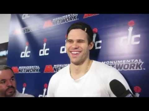 Kris Humphries - End of Season Interview - Wizards - May 18, 2015