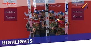 Norway ease past rivals in Team FH competition at Planica | Highlights