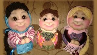 В ролике представлены авторские работы Валентины Третьяк: интерьерные куклы выполнены в технике скульптур...