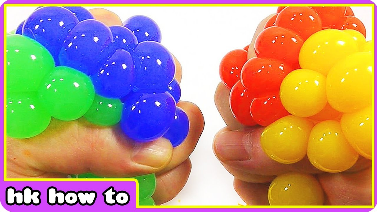 Squishy Maker Gudang Slime : How To Make DIY Slime without Borax DIY Squishy Mesh Slime Ball - By Hooplakidz How To - YouTube