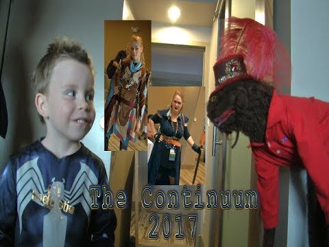 Cosplay Light Sabers and more at The Continuum 2017