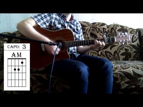 ONE OK ROCK - Clock Strikes. (Acoustic Guitar Cover w/ Tabs).