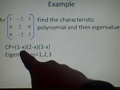 how to get eigenvectors of a matrix