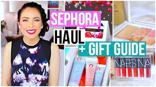 Sephora Haul + Holiday 2016 Gift Guide!