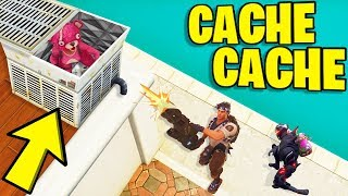 LA CACHETTE IMPENSABLE ! (Fortnite Cache Cache)
