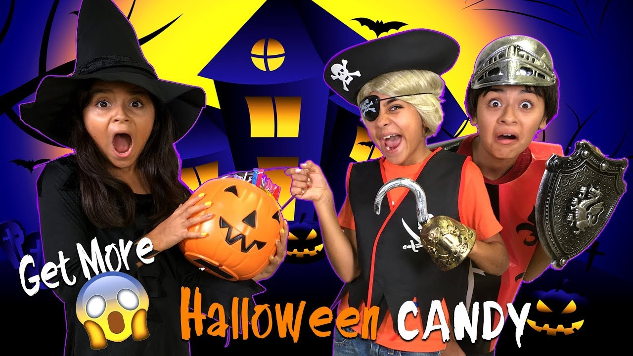 Captivating Funny Halloween Trick Or Treat Parody   Halloween Humor 2017 : SKETCH  COMEDY // GEM Sisters