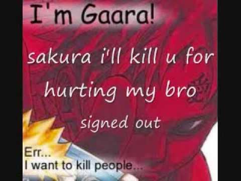 Naruto Chat # 1 NARUTO LEAVES AND SAKURA'S PAIN.wmv