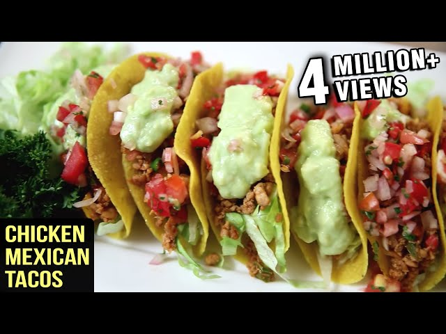 Chicken Mexican Tacos Recipe Tacos With Chicken Filling The Bombay Chef Varun Inamdar Youtube