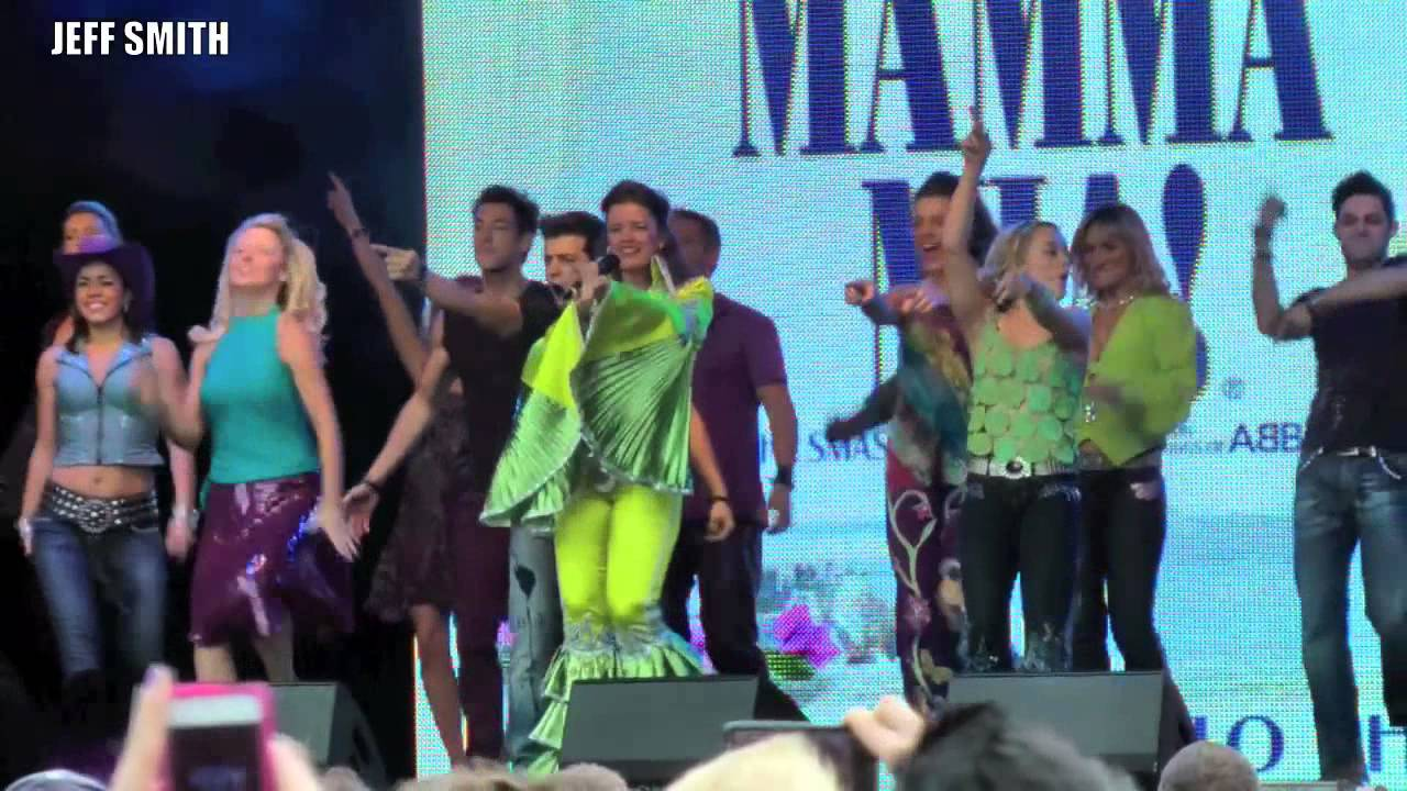 west end live 2013 mamma mia live on stage hd youtube. Black Bedroom Furniture Sets. Home Design Ideas