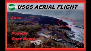 HAWAII Kilauea Eruption USGS Boat Ramp STILL in Danger! (8/10/2018)