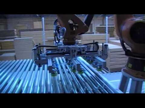Линия автоматической упаковки мебели Mobiline фирмы LCR от САПЕМИНВЕСТ