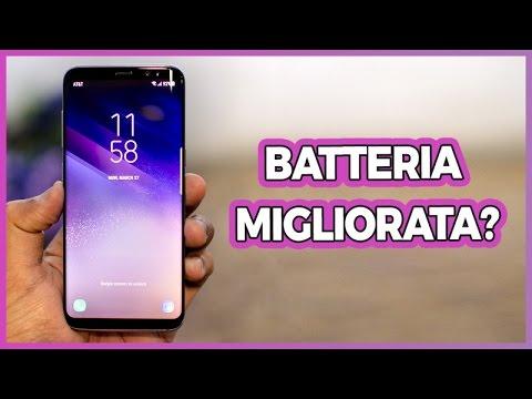Samsung Galaxy S8: la BATTERIA è migliorata?
