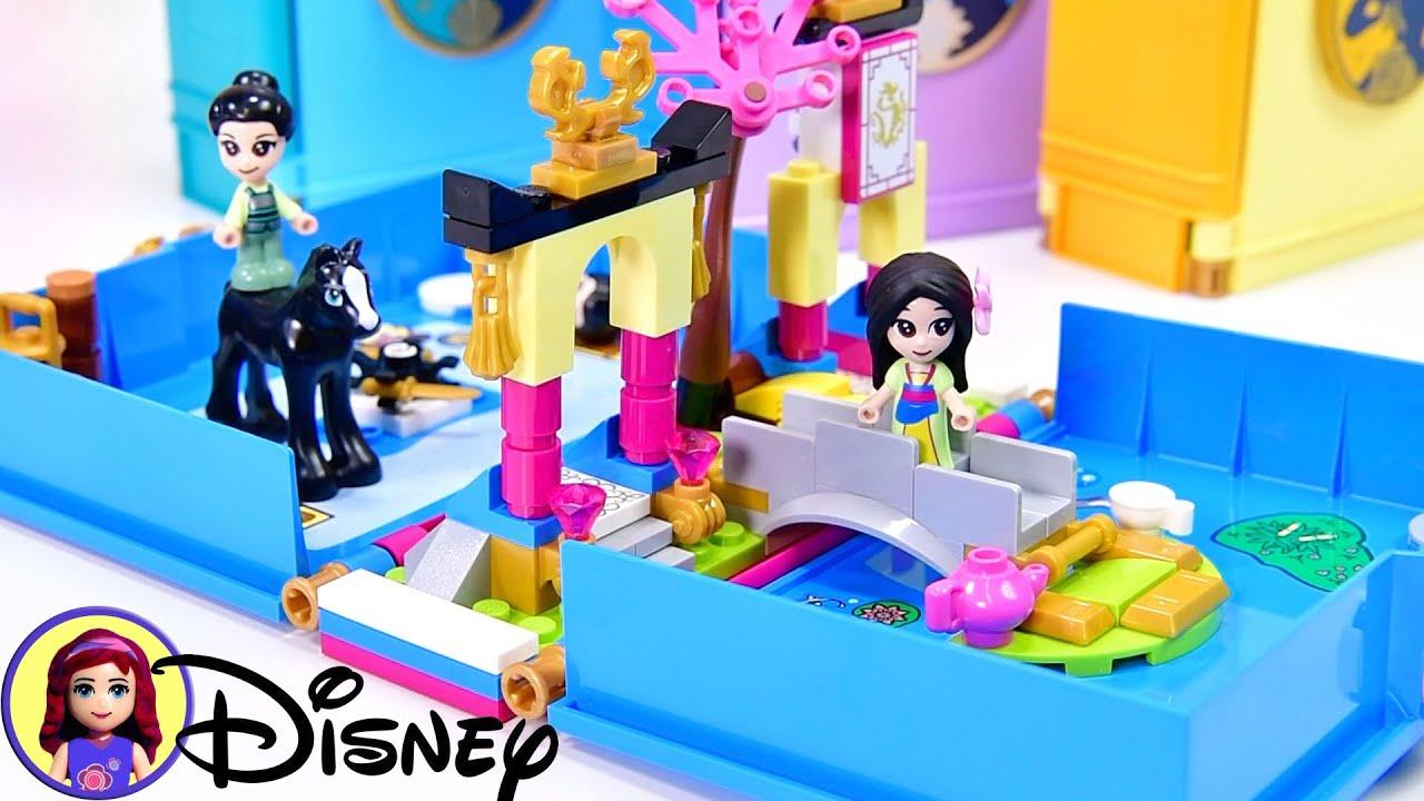 Lego City Disney Mulan set 43174 sticker small NEW