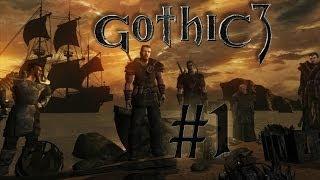 Let´s Play Gothic 3 Gold Edition #1 Ein stürmischer Anfang HD Bayrisch