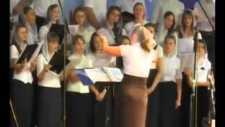 Винницкой молодежный хор ХВЕ Старогородский Благословенно имя Твое