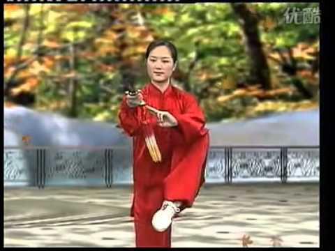 吴阿敏42式太极剑全套