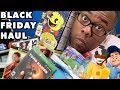 BLACK FRIDAY 2018 HAUL - Movies, Games, Toys, Tech, Shirts (Black Nerd)