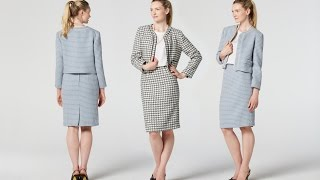How to Make a Tweed Jacket | Teach Me Fashion