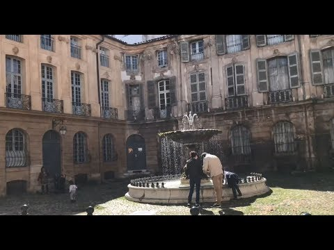Checking Every Detail in Aix-en-Provence