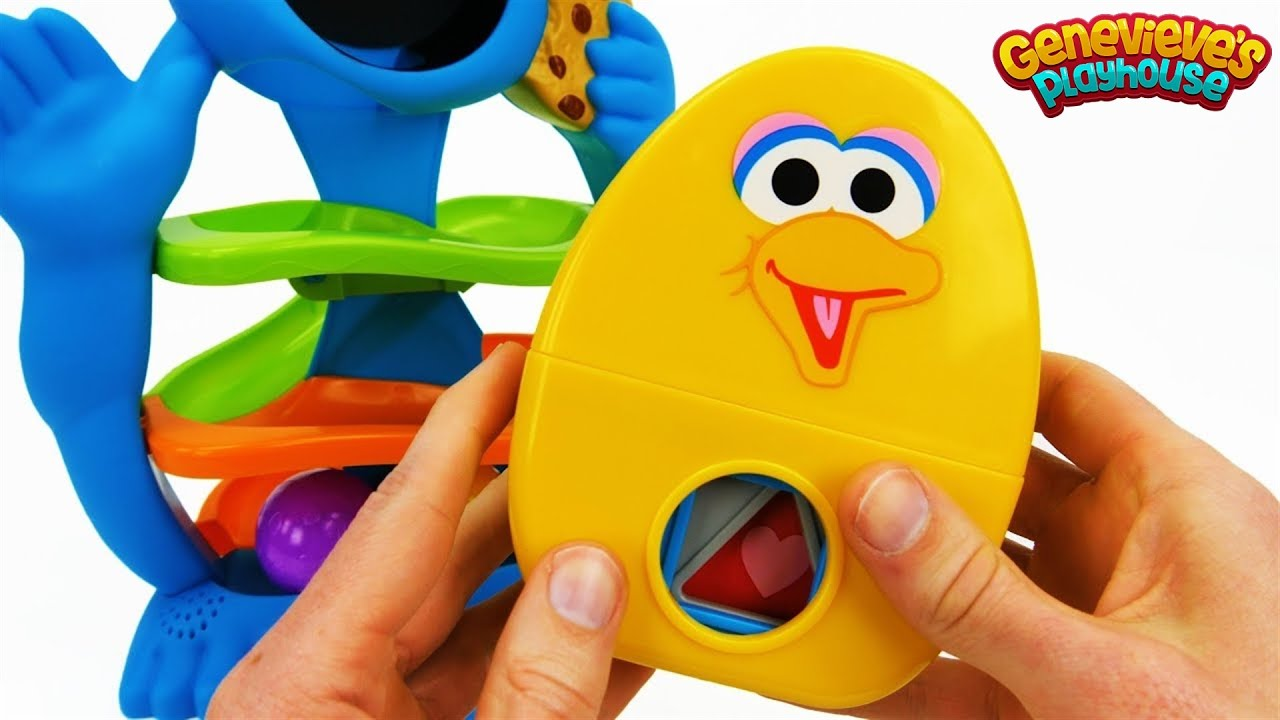 Toy Learning Videos for Toddlers - Cookie Monster, Peppa Pig, Paw Patrol!
