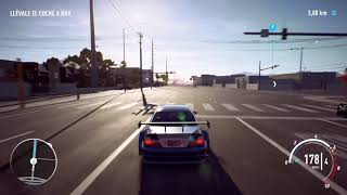 Need for Speed Payback  coche abandonado BMW M3 GTR (MostWanted) 15-1-2019