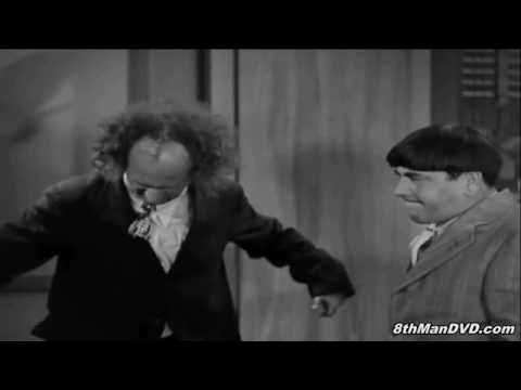The Three Stooges - Disorder in the Court (1936) - Larry Loses It