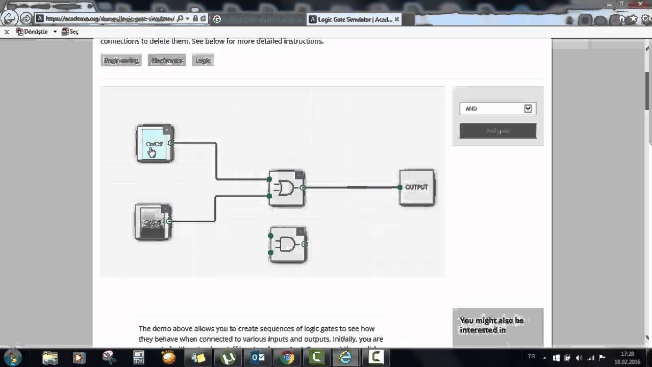 Magnificent Logic Gates Online Model - Wiring Diagram Ideas ...