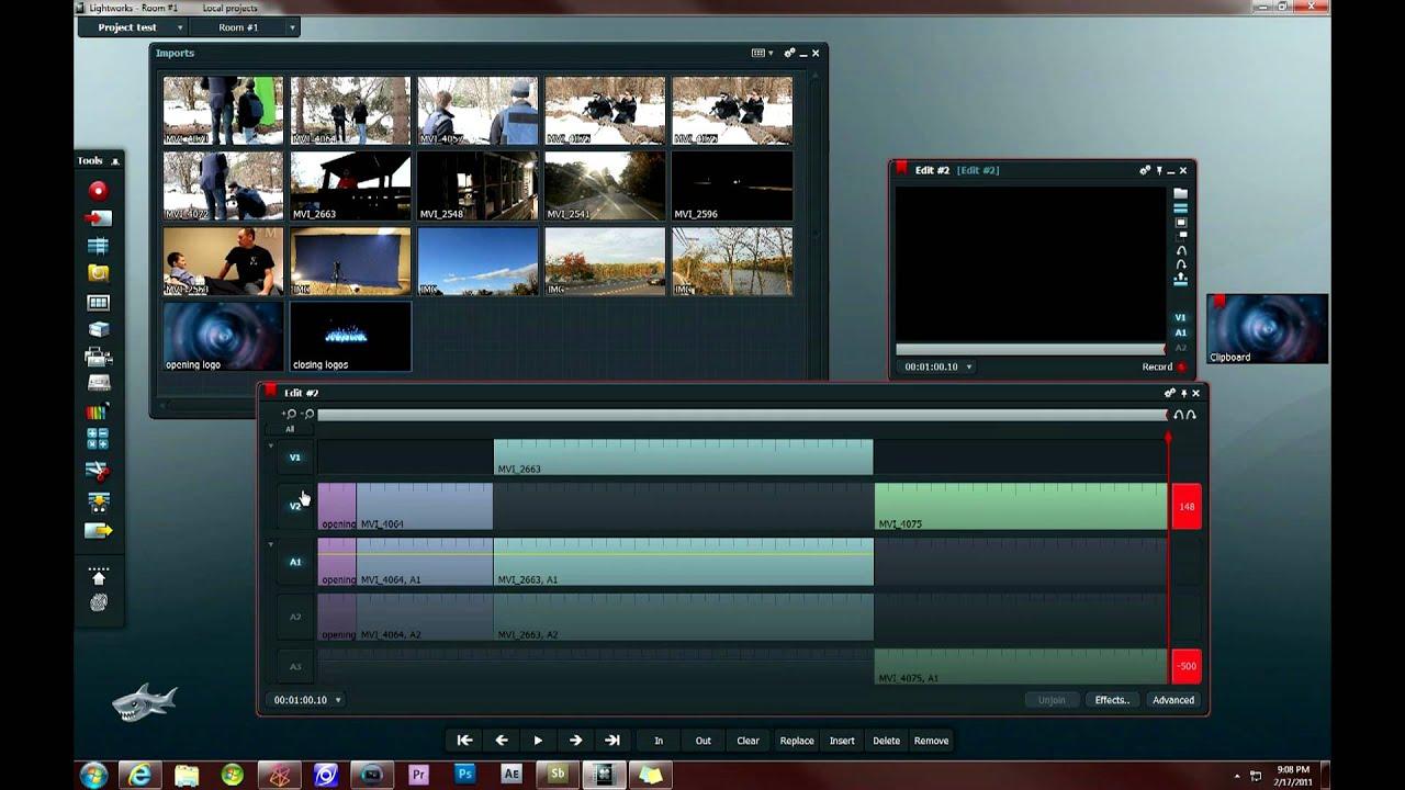 Lightworks: Editing Basics (Part 6) - YouTube