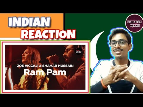 Indian Reacts To :- Coke Studio Season 12 | Ram Pam | Zoe Viccaji & Shahab Hussain