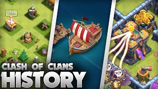 The History of Clash of Clans (2012 -2021) 9 Year Anniversary Special!