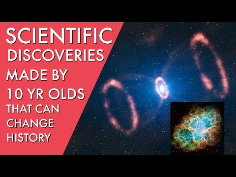 top 4 scientific discoveries by 10 year olds that can change history 2018